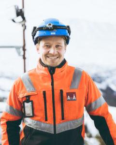 A til Å entreprenør på byggeplass med stillaser fra TBU